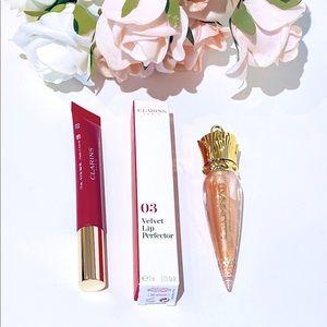 NEW Clarins & illuminati Lipstick Lipgloss bundle